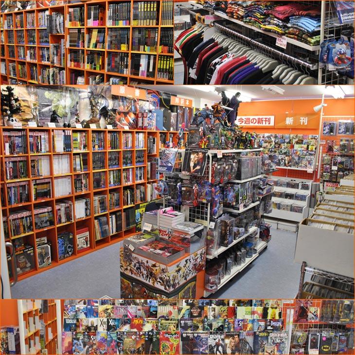 秋葉原のアメコミ専門店 BLISTER comics のサイトへようこそ!